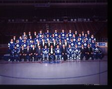 1- Official Toronto Maple Leafs Team Transparency 1992-93 Hockey Season