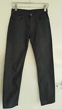 XS Men's Jeans, Black with Silver Effect, Size W27 L32 - RARE SIZE, PERFECT!