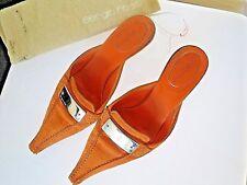sandales mules Sergio ROSSI orange 36