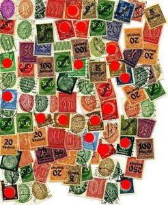 DR kleines Los Dienstmarken #l100