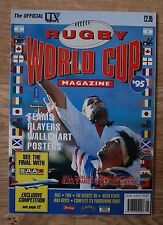 Rugby World Cup 95 - The Official ITV Sport Magazine - Teams,Players etc
