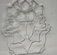 Vintage 32 in One Scrapless Christmas Cookie Cutter with Instructions