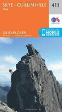 OS Explorer Mappa (411) Skye - Cuilin Hills - Soay (Explorer Maps) Da Ordnance