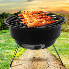 Portable BBQ Charcoal Smoker Grill Barbecue Roaster Garden Outdoor Cooking