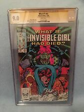 What If? #42 (Dec 1983 Marvel) CGC SS 9.0 SIGNED Michael Golden - Fantastic Four