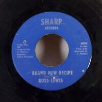 "Russ Lewis Brand New Recipe / Love Made Me Blue 45 7"" Sharp NORTHERN SOUL VG-"