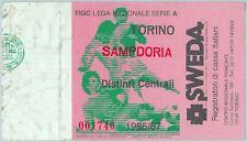 68358 - BIGLIETTO PARTITA CALCIO  Scudetto 1986-87 : TORINO  / Sampdoria
