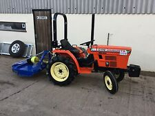 Compact Tractor with topper front weights, O Clutch, Warranty & Ready to work