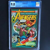 AVENGERS #132 (1975) 💥 CGC 9.8 💥 HIGHEST GRADED - 1 of ONLY 24! Human Torch