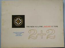 Jaguar E Type 4.2 Litre 2+2 Series 1 1966-68 Original UK Sales Brochure