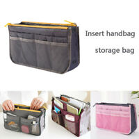 Insert Handbag Organiser Purse Liner Organizer Women Storage Bag Tidy Travel_P
