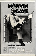 RS#129P07 MARVIN GAYE : TROUBLE MAN ALBUM ADVERT 15X10
