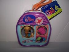 Littlest Pet Shop Pony Horse W/Accessories In Purse #840 Messiest 2008 Htf New