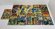 Vintage DC Comics Batman Comic Book Lot Of 11 1968-1971