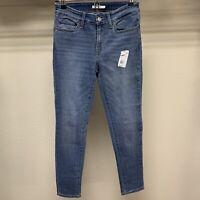 Levi's Womens 711™ Mid Rise Skinny Jeans Medium Wash Size 27x28 Stretch