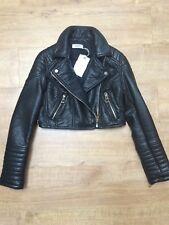GLAMOROUS black biker jacket size M NEW
