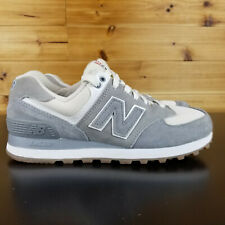 New Balance Men's Shoes Sz 5.5 574 Retro Sport Shoes Grey with Silver