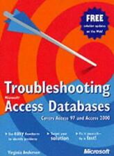 Troubleshooting Access Databases (Eu-Undefined),Virginia Andersen