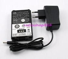 2700mAh Capacity Li-ion Battery + Charger for Kenwood PB-43L PB43 PB-43N EU Plug