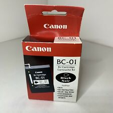 New BC-01 Genuine Black Canon Cartridge BJ-5 BJ-10E BJ-20 B2000/B220 B60/B70/B75