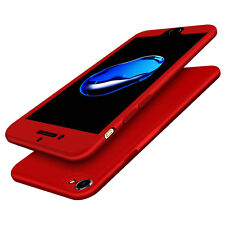 New 360° Case Front Back Full Body Shockproof Soft Cover For iPhone 6 6s 7 Plus
