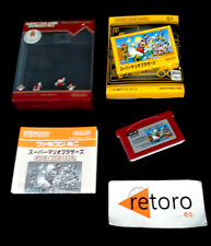 SUPER MARIO BROS VOL 01 FAMICOM MINI GBA GAMEBOY ADVANCE JAP game boy