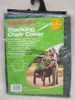 New Supa Stacking Garden Chair Cover Up To 6 Chairs Green SGC15