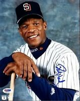 Rickey Henderson Signed Psa/dna 8x10 Photo Autograph Authentic