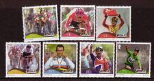 île de Man 2012 Mark Cavendish Jeu de 7 Non montés excellent état, Cycliste