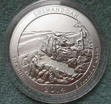 2014 America the Beautiful 5 Oz. Silver Unc. Coin - Shenandoah National Park