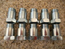 (10) Oxygen sensor extender spacer HHO HYDROGEN Test Pipe O2 M18 X 1.5 18mm
