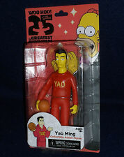 """The Simpsons 25 Greatest Guest Stars Series 1 YAO MING 5"""" Action Figure NECA"""