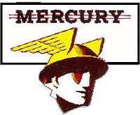 MERCURY VINYL STICKER A484