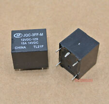 10pcs.HONGFA Power relay SPDT,15A 14VDC load 12VDC coil JQC-3FF-M-12VDC-1ZS