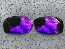 Gravé Polarisé Violet Miroir de Rechange Oakley Cinq Carré & 3.0 Verres