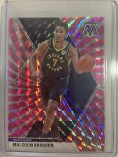 19-20 Mosaic Malcolm Brogdon Indiana Pacers Pink Swirl 11/11 1st Off The Line