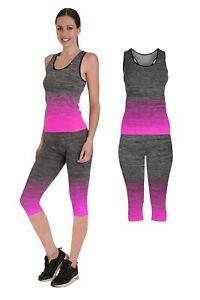 2 pc set Ladies Gym , Yoga , Exercise - One Size ( sizes 8 - 14 )