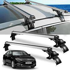 For Kia Optima Soul Car Luggage Cross Bars Roof Rack Carrier Window  Frame+3Clamp (Fits: Nissan Altima)