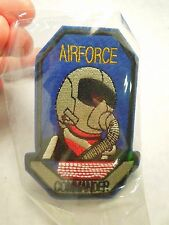 Airforce Commander American Flag Iron On Patch