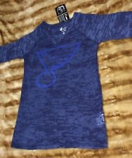 ST LOUIS BLUES HOCKEY - NHL Ladies Womens Shirt Size Medium