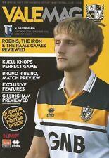 Teams F-K Gillingham League One Football Programmes
