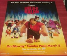 WRECK IT RALPH DVD MOVIE POSTER 1 Sided ORIGINAL MINI 22x28 JOHN C. REILLY