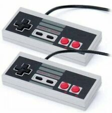 2 Lot New USB Controller for NES Nintendo Games Retro Classic Gamepad PC MAC