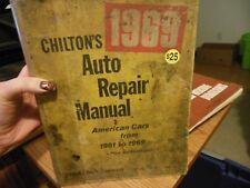 Chilton's 1969, Auto Repair Manual, American Cars from 1961-1969 Plus Volkswagen