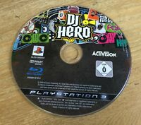 DJ Hero PS3 Sony PlayStation 3 Game Only (CD VGC)