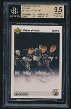 1991-92 Upper Deck French #437 Wayne Gretzky BGS 9.5
