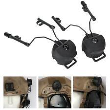 Tactical Helmet Headset Support ARC Rail Adaptor Suspension Headphone Holder
