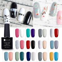 2Pcs/set Nail Art Gel Polish UV LED Glitter Varnish Soak Off Manicure Tips Salon