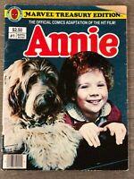 ANNIE #1 MARVEL TREASURY EDITION 1982 BRONZE AGE
