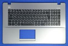 TopCase mit DE Tastatur Asus PRO X750LA X750LB X750LN X750JA-3C Series - Grau -